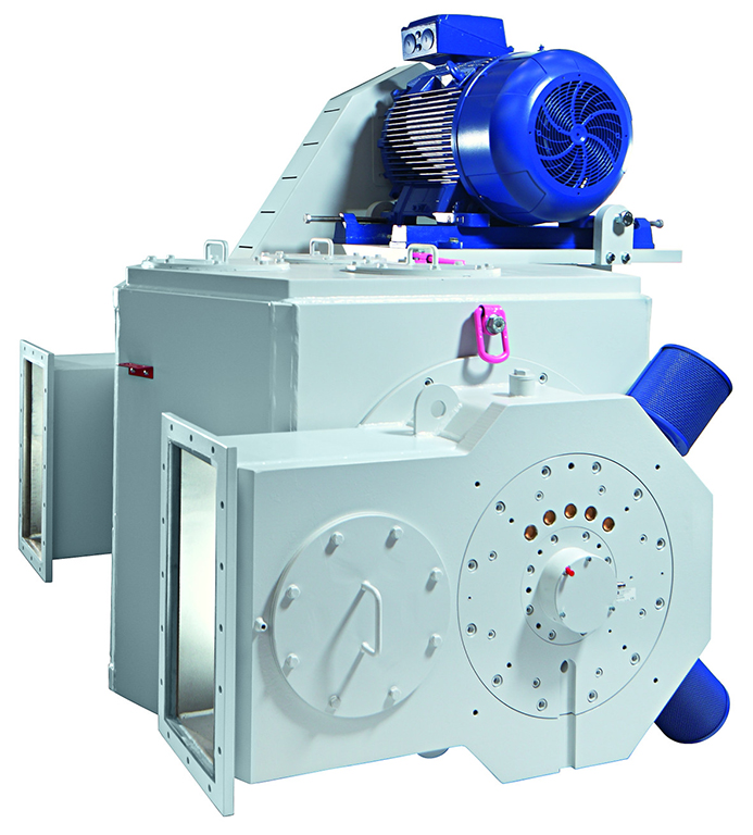Air classifier for minerals
