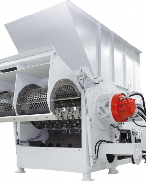 Torsion-resistant shredder