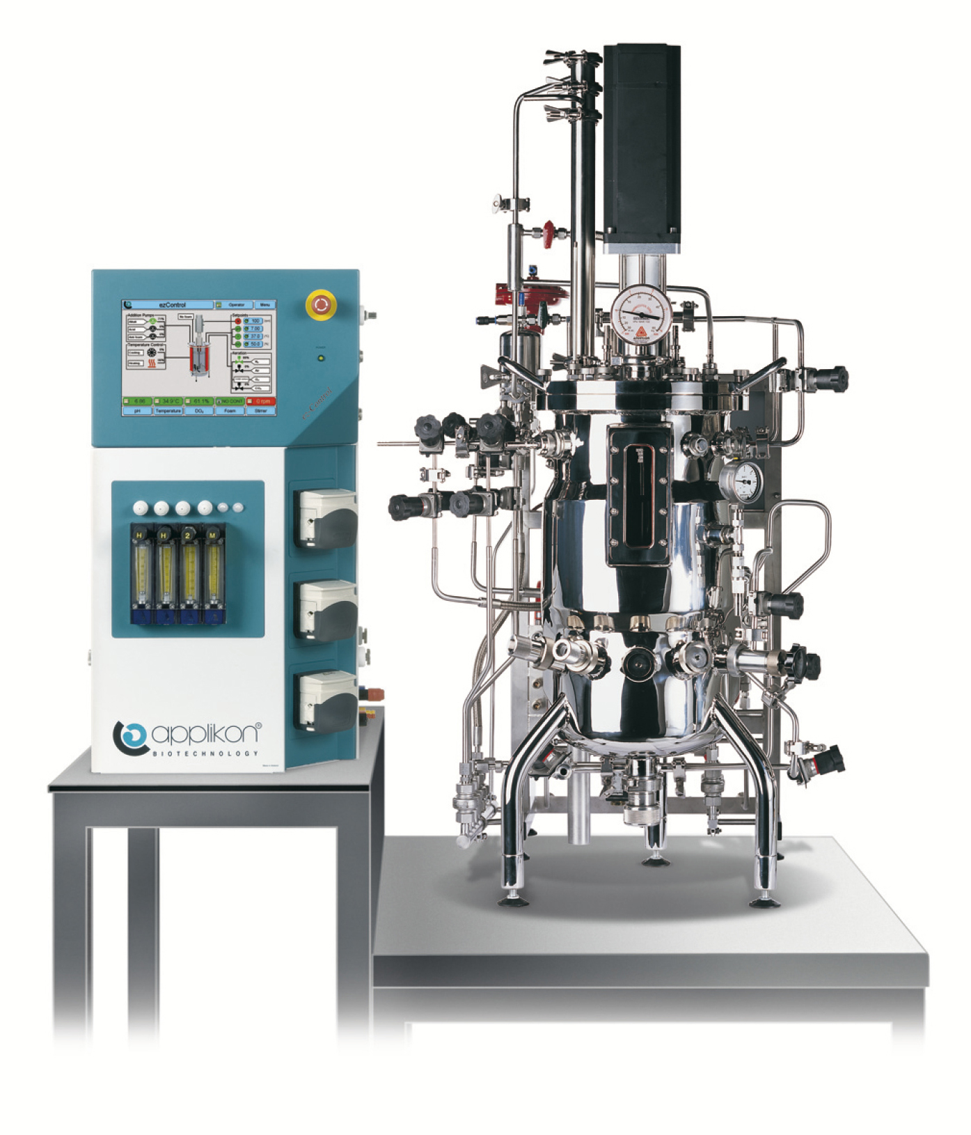 Steam-in-place bioreactor systems