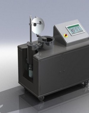 Laboratory scale active freeze dryer
