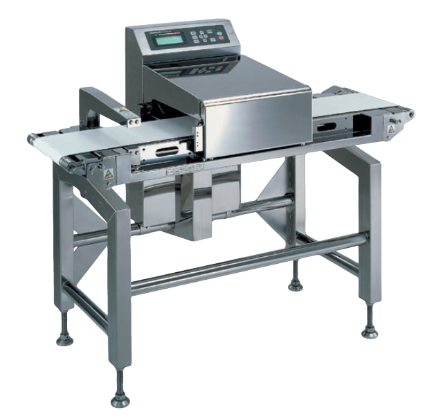 Metal detection system for aluminum packages