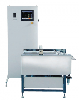 Checkweigher for sachets and sticks