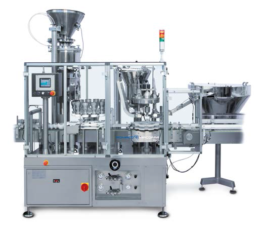 Dosing machine for nonfree-flowing powders
