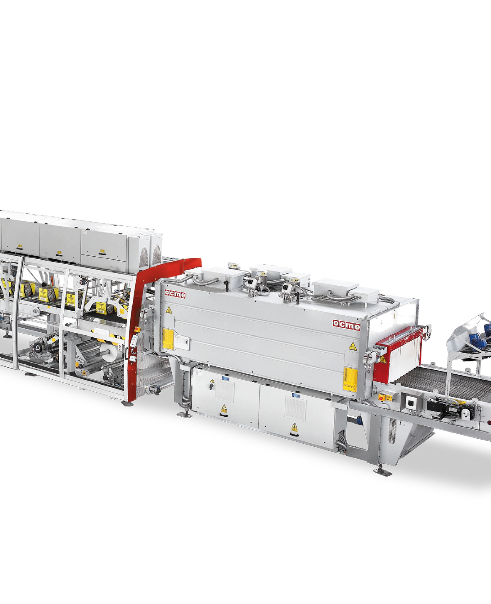 Combined wraparound and shrink-wrap packer