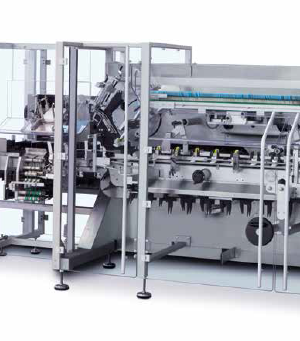 Horizontal continuous motion cartoner