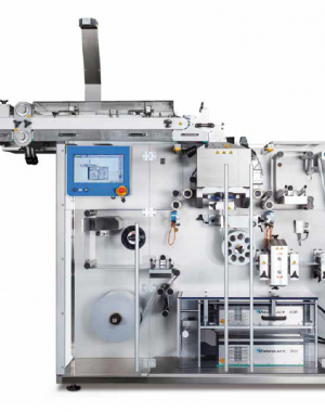 Strip packaging machine for effervescent tablets