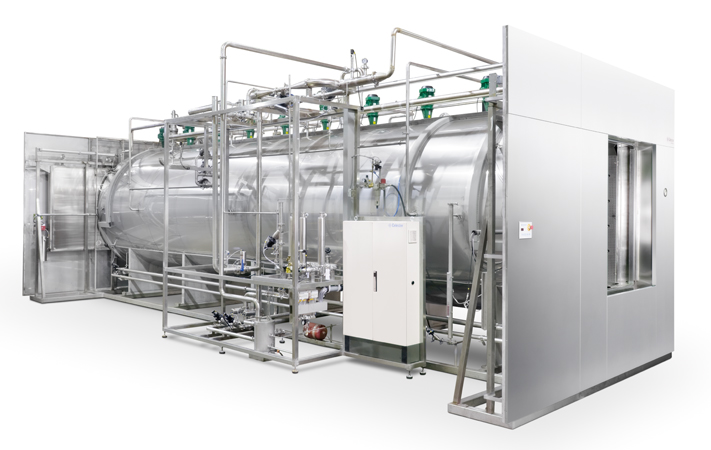 Steam and air mixture sterilization autoclave