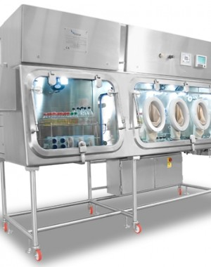 Sterility test isolators