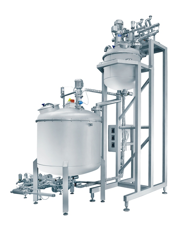Automatic premixer for hard candy