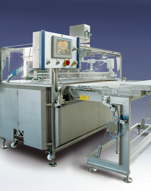 Ice coating machine