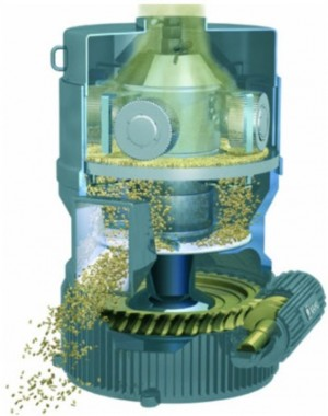Pelleting press for biomass