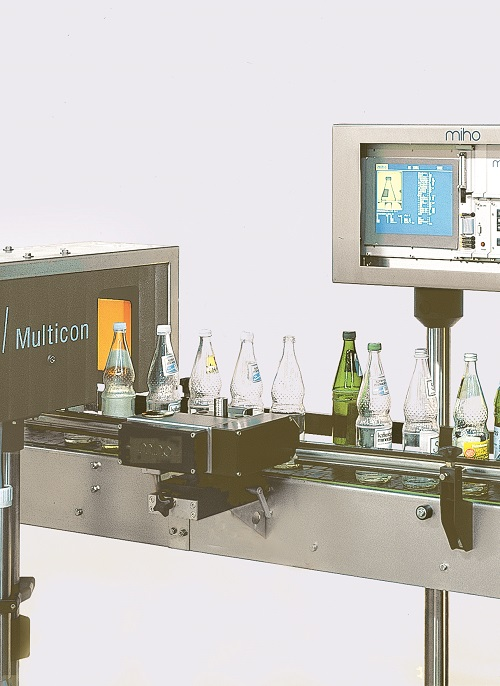 Empty bottle shape, colour and size sorting system