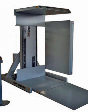 Pallet changer floor level
