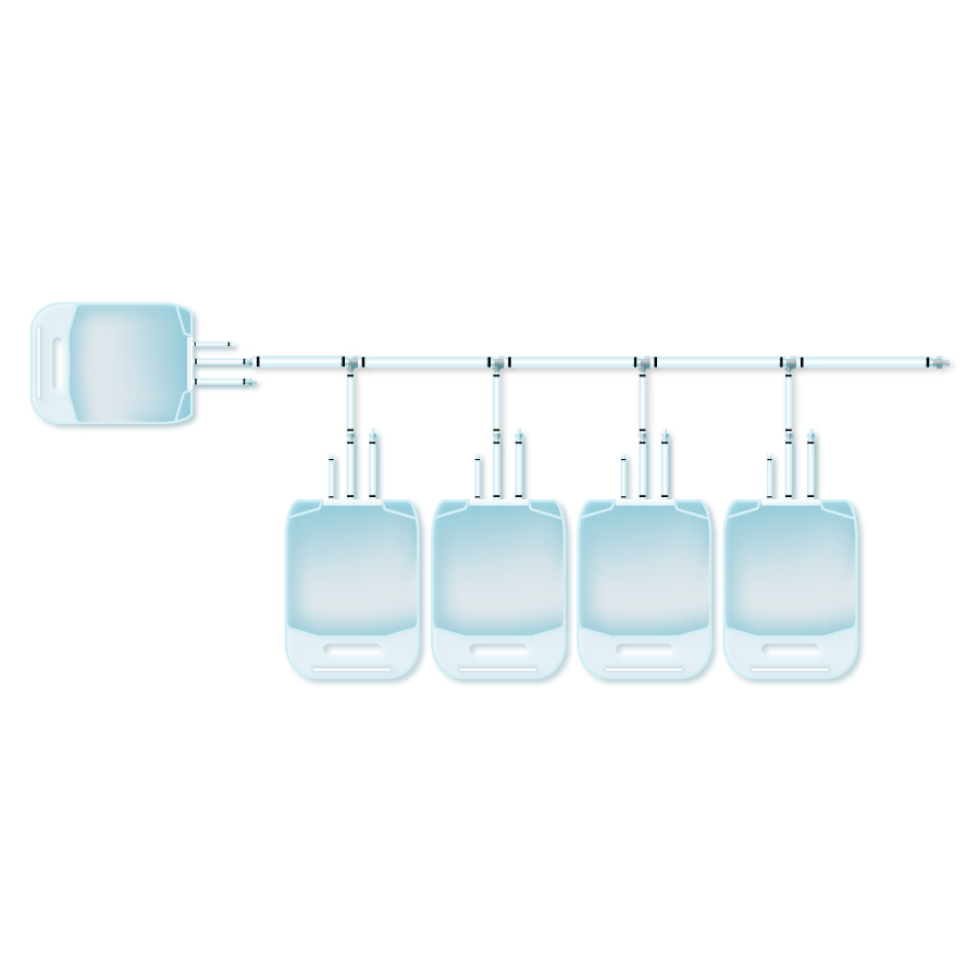 Disposable manifold bags for bioprocesses