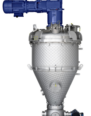 Vertical paddle dryer