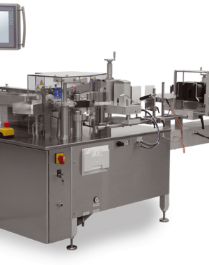 Labeling machines for ampoules, vials and bottles