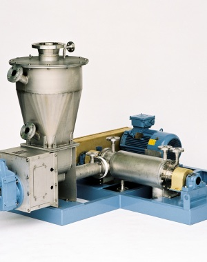 Continuous high-speed paddle mixer