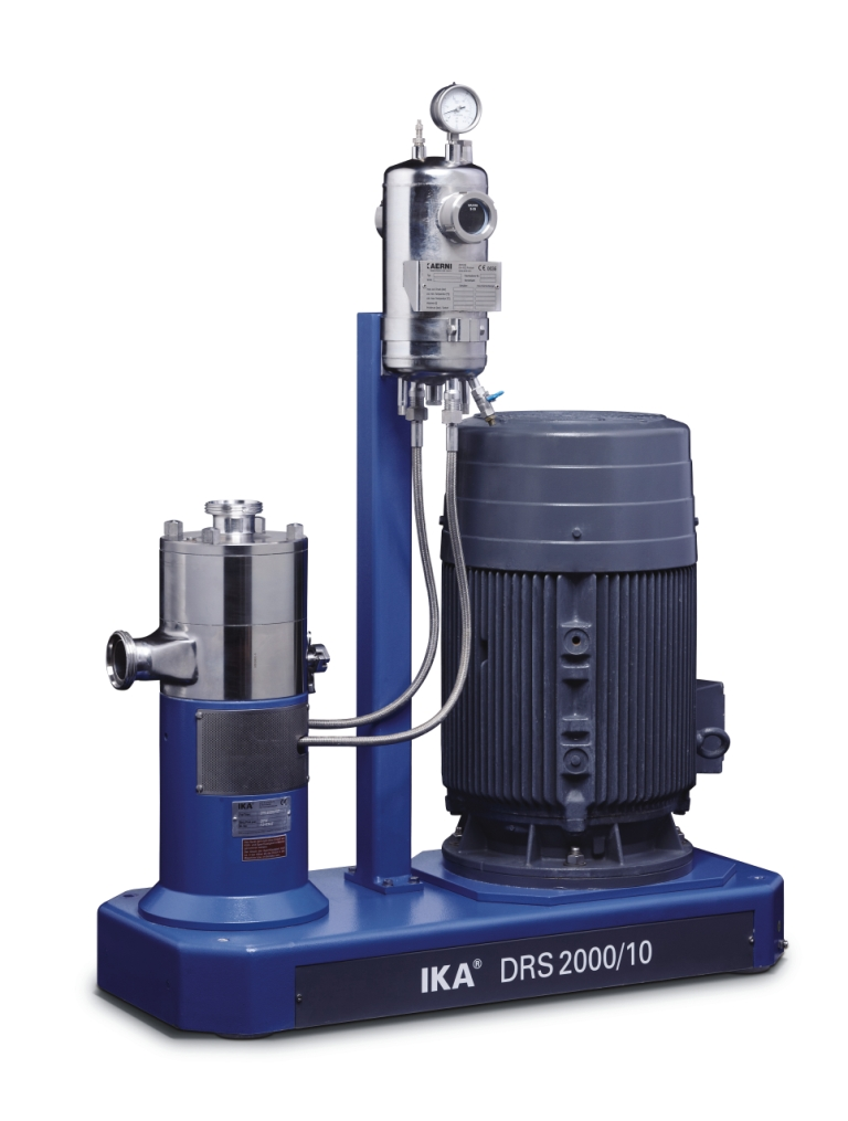 Ultra-fine dispersing machine for emulsions and suspensions