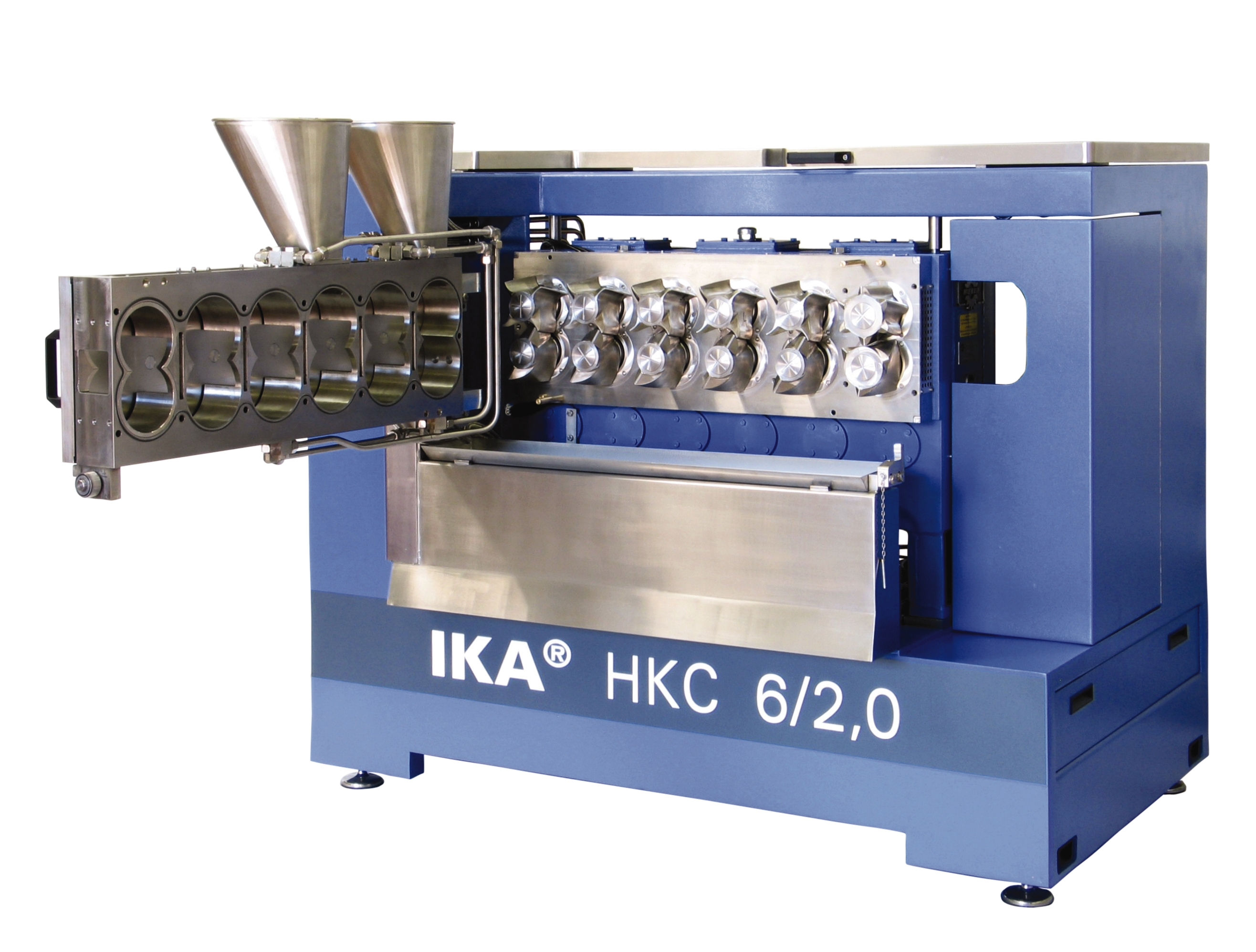 Continuous kneader