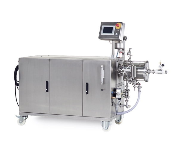 Disintegrator for low-viscosity media