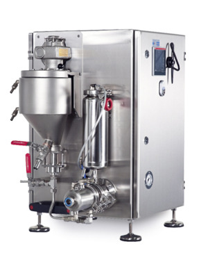 Laboratory aerator for food products