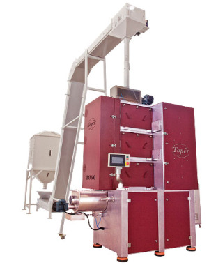 Roll mill for coffee beans