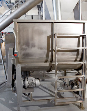 Basic mixer for granular foods