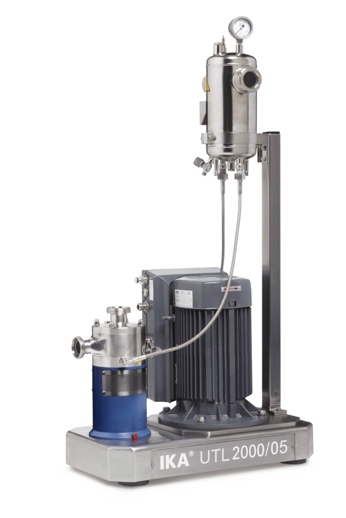 Dispersing machine for emulsions and suspensions