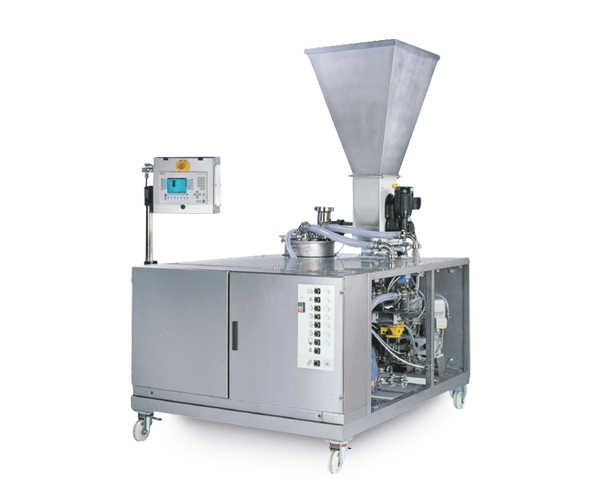 Continuous mixer for pumpable media