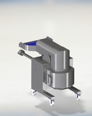 Declumping machine for dried fruit or frozen vegetables