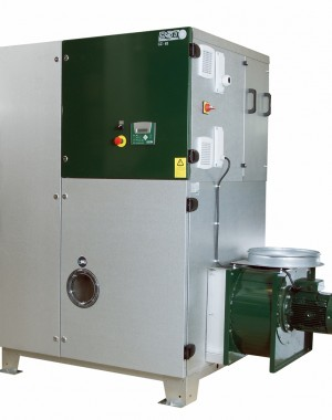 Sorption dehumidifier for deep drying
