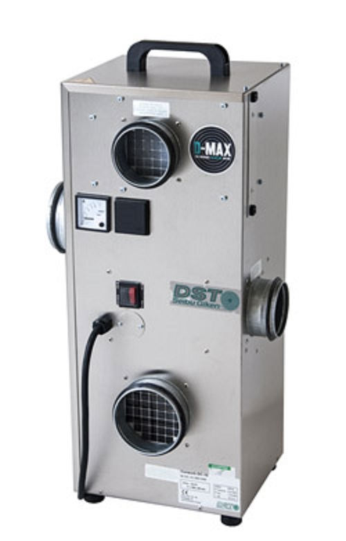 Sorption dehumidifier for large temperature differences