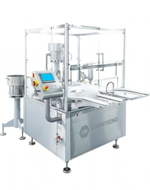 Start-up sterile filling line for injectables