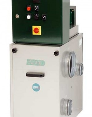 Heat recycling sorption dehumidifier