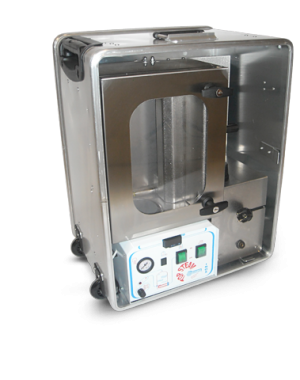 Laboratory size auto-steam shrink system