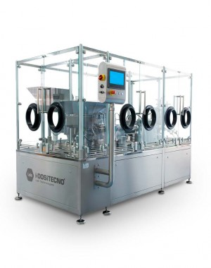 Sterile filling line for injectables