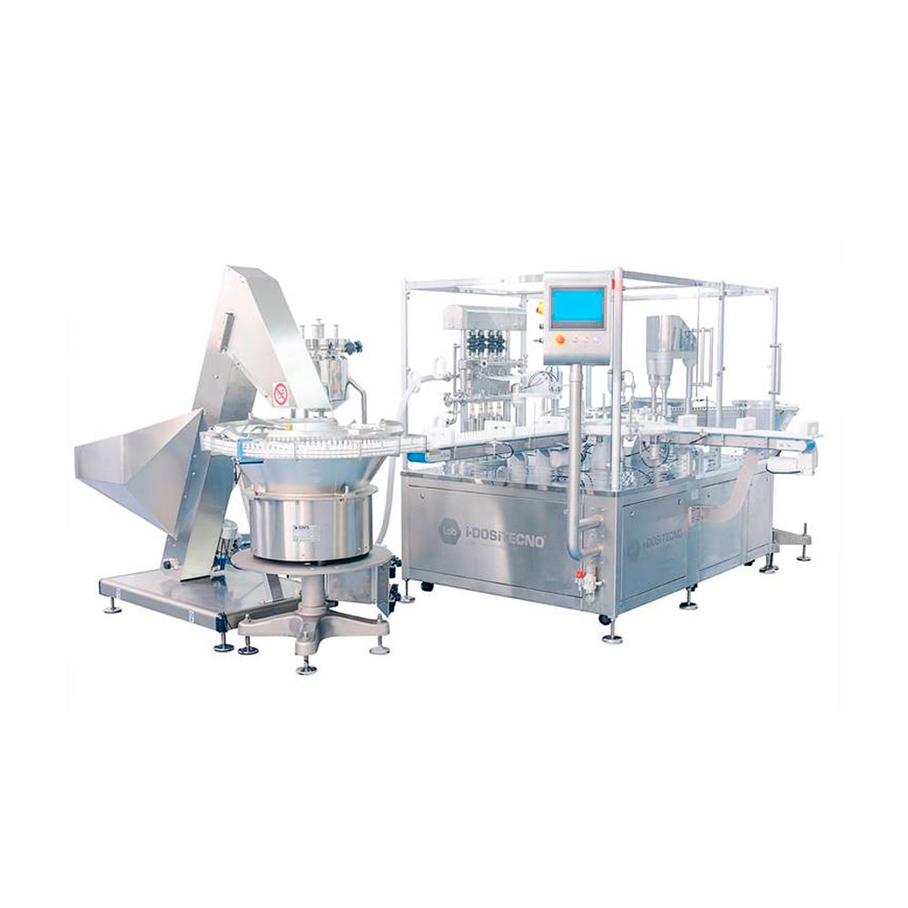 Sterile filling line for ophthalmics
