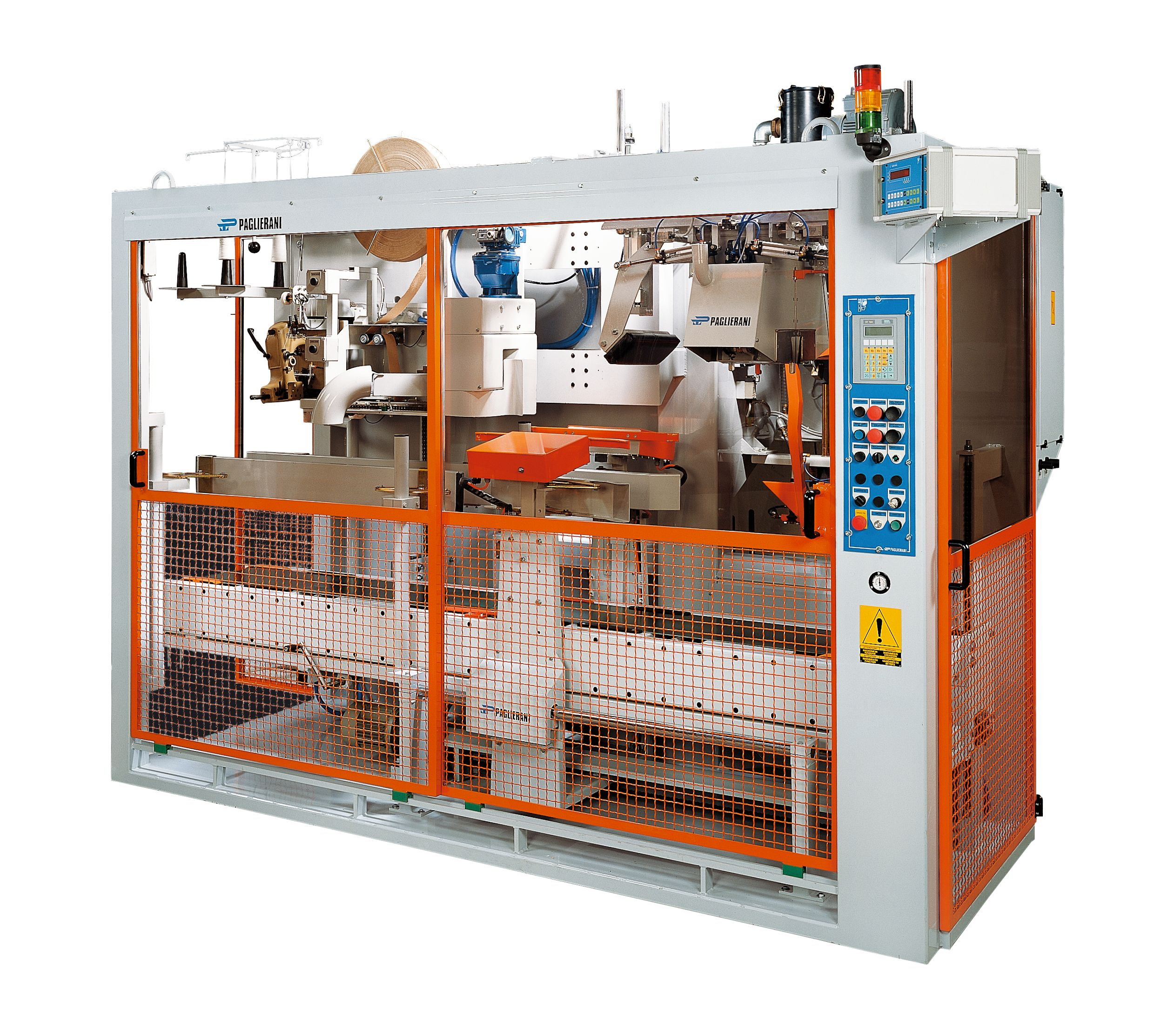 Automatic bagging machine for open mouth bags