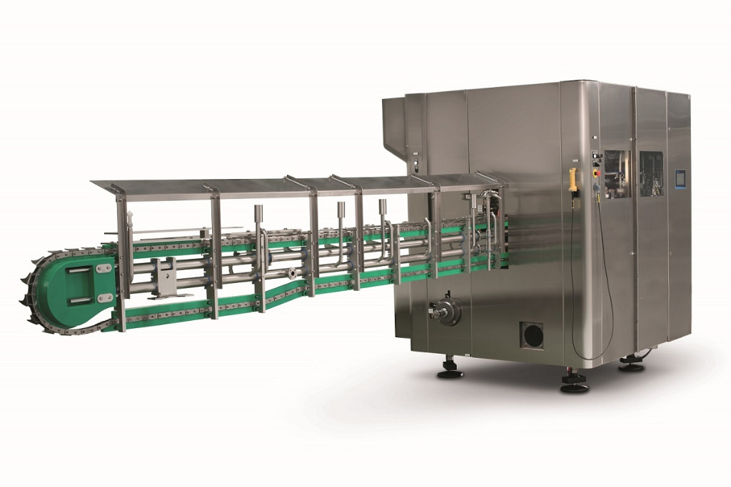 High-speed can seamer for the beverage industry