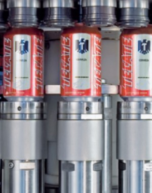 Medium-speed can seamers for the beverage industry