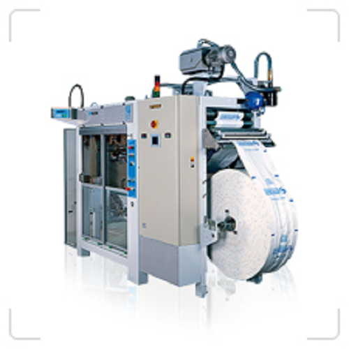 Horizontal form, fill and seal machine for bags from 250 g to 10 kg