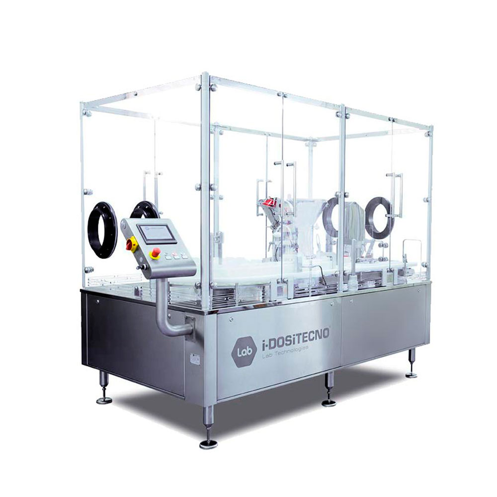 Start-up sterile filling line for ophthalmics