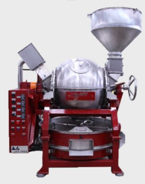 Ball roaster for cocoa beans