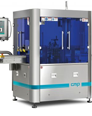 Flexible automatic inspection machine for ampoules, vials or cartridges