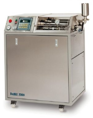High pressure pilot homogenizer