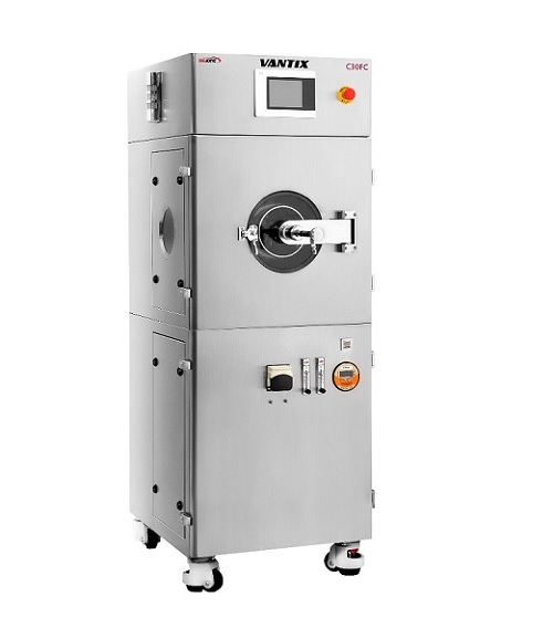 Automatic tablet coater for lab scale
