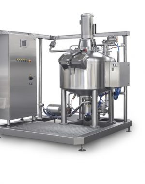 Centrifugal mixer for batters and creams