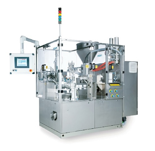 Medium and high speed range automatic tube filler