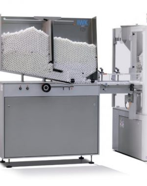 Tube feeding unit for high volume and high speed tube filler