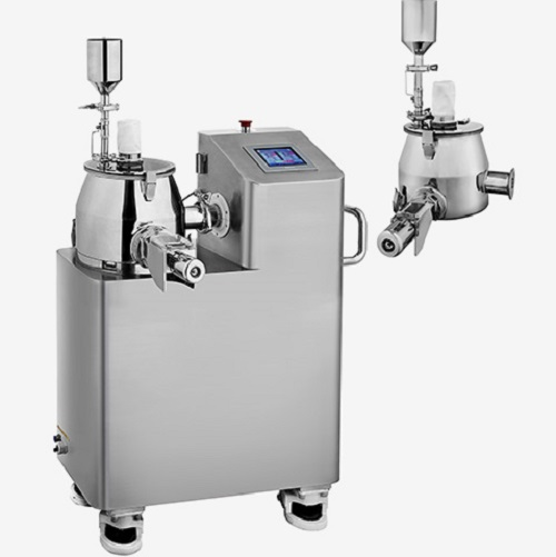Entry-level high-shear mixer for drug formulation